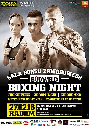 BOXING NIGHT 2016 RADOM
