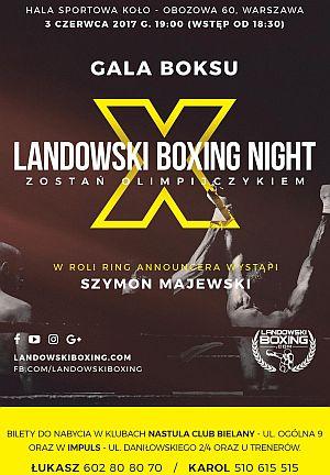 Landowski Boxing Night X