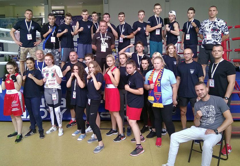 Ogólnopolska Olimpiada Młodzieży - dziewczęta i chłopcy zadowoleni z występu w Pułtusku