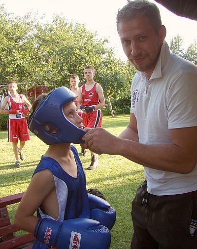 XV Galobiesiada w Łysomicach - młodzi adepci pięściarstwa