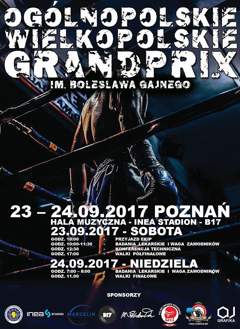 Wielkopolskie Grand Prix 2017 im. Bolesława Gajnego