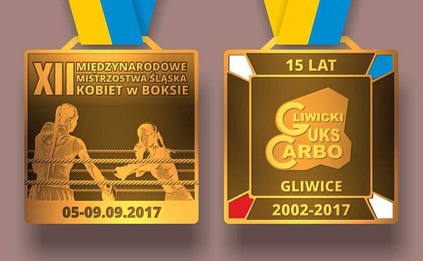 Medale Międzynarodowych Mistrzostw Śląska Kobiet w Boksie - Gliwice 2017