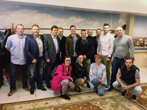 Sędziowie boksu olimpijskiego na kursie w Warszawie