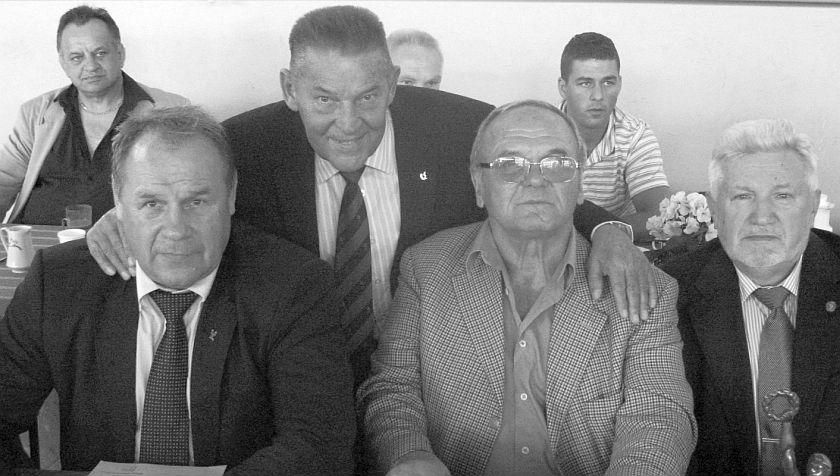 Jerzy Rybicki i Jerzy Kulej podczas Mistrzostw Polski w Grudziądzu - wrzesień 2011