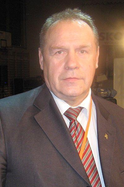 Jerzy Rybicki - prezes honorowy Polskiego Związku Bokserskiego