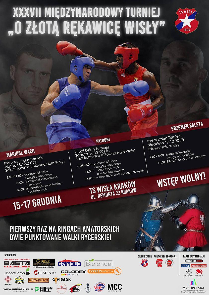 XXXVII Międzynarodowy Turniej o Złotą Rękawicę Wisły Kraków