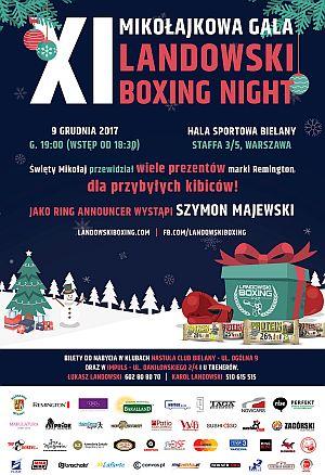 Mikołajkowy XI Boxing Night