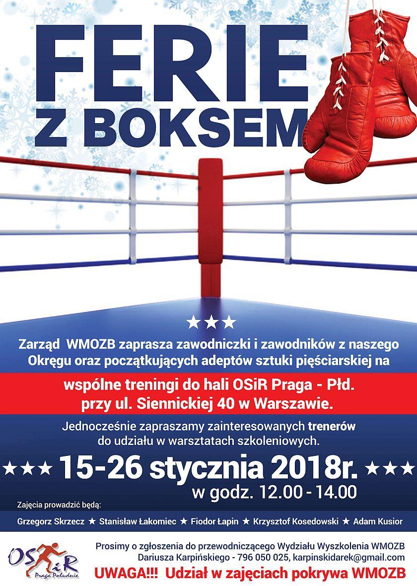 Ferie z boksem na Warszawskiej Pradze