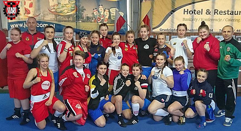 Finalistki Mistrzostw Polski Juniorek w Boksie za rok 2017