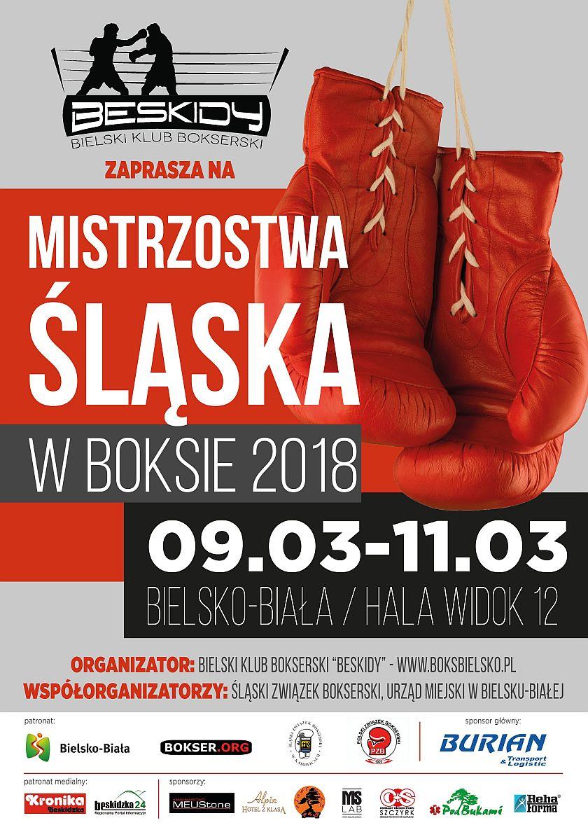 Mistrzostwa Śląska organizowane przez Bieslki Klub Bokserski 'Beskidy'