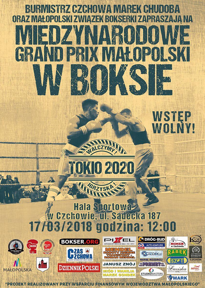 Międzynarodowe Grand Prix Małopolski 2018 trzecia edycja startuje w Czchowie