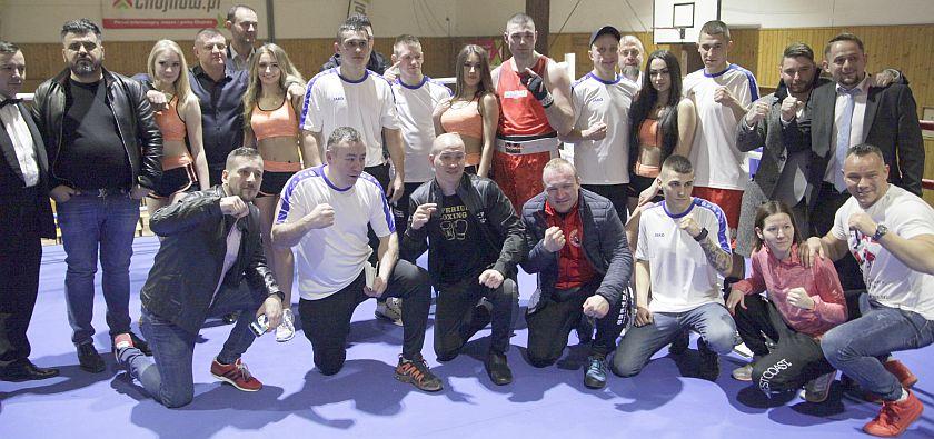 Po meczu Ekstra Ligi Boksu Olimpijskiego - Dolny Śląsk kontra Olimp Lublin
