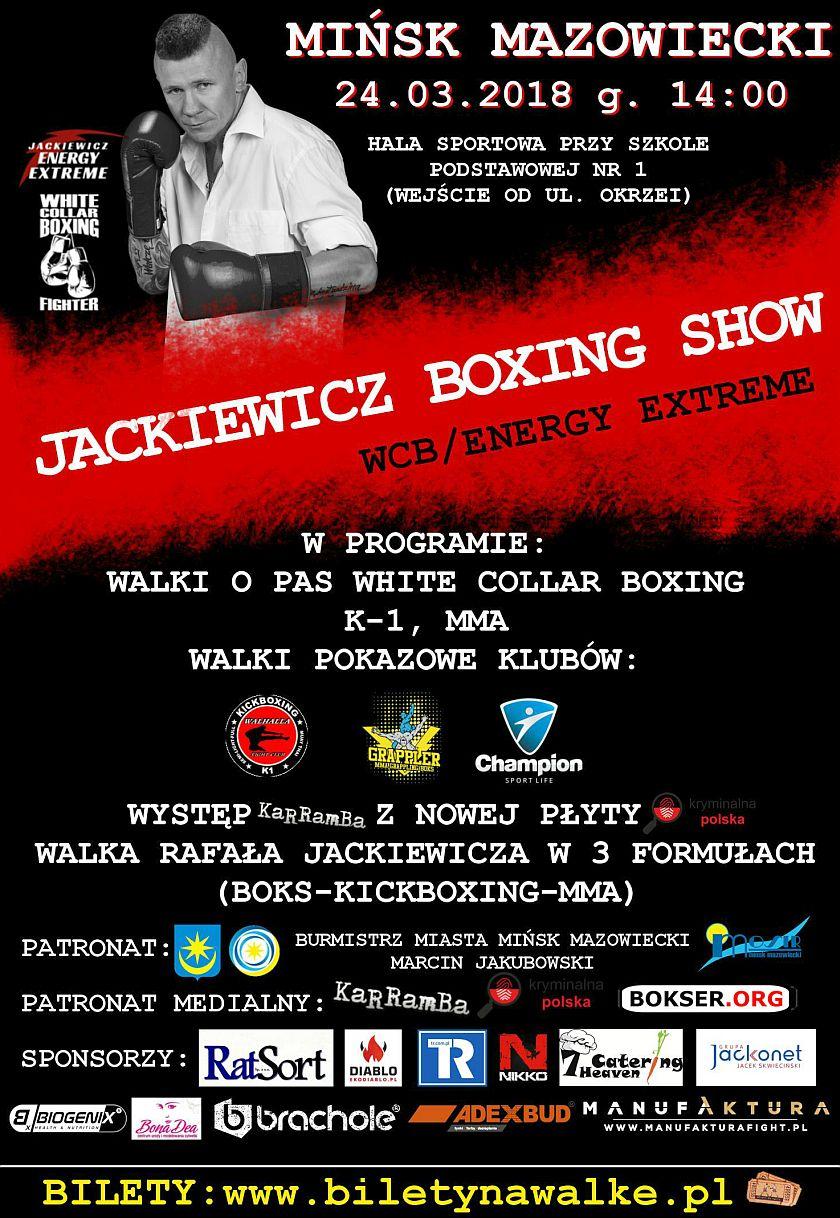 Gala Białych Kołnierzyków - White Collar Boxing - Rafał Jackiewicz