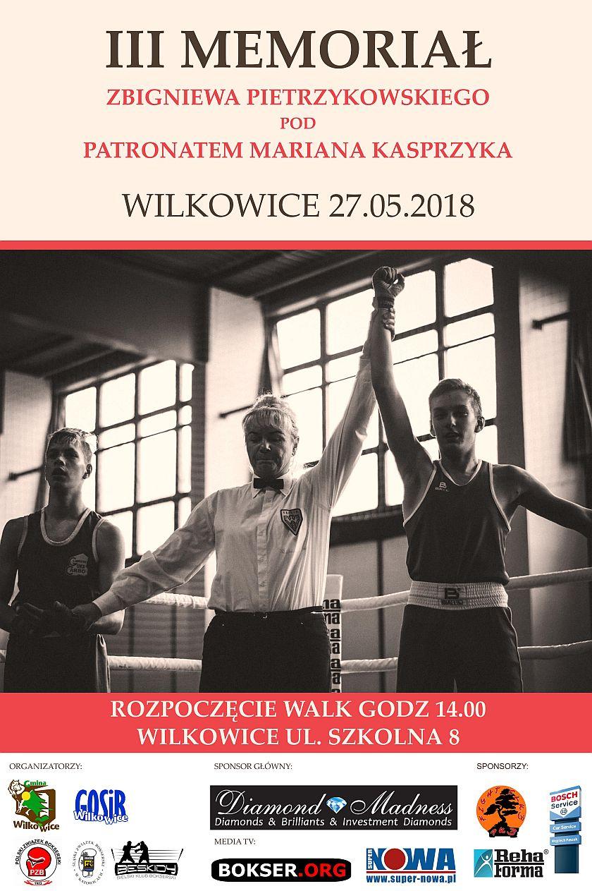 Memoriał Zbigniewa Pietrzykowskiego pod patronatem Mariana Kasprzyka - Wilkowice, Bielsko Biała