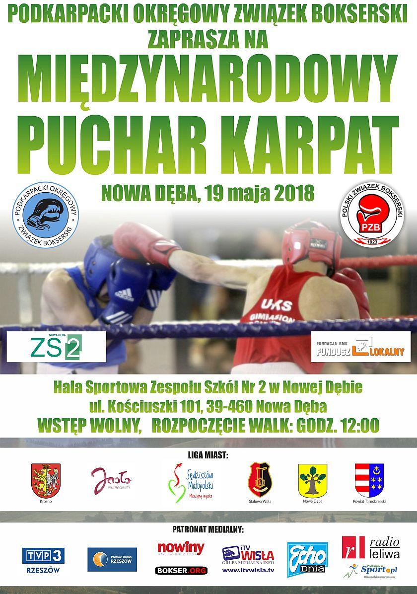Międzynarodowy Puchar Karpat - inauguracja drugiej edycji w Nowej Dębie