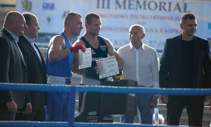 Krzysztof Gojny (JKB Jawor Team Jaworzno) vs Marcin Ściskała (KB Puncher Cieszyn)