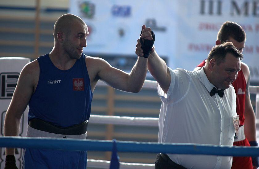 Łukasz Nazaruk (BKB Beskidy Bielsko-Biała) vs Mateusz Kowalczyk (WKS Desant Kraków)