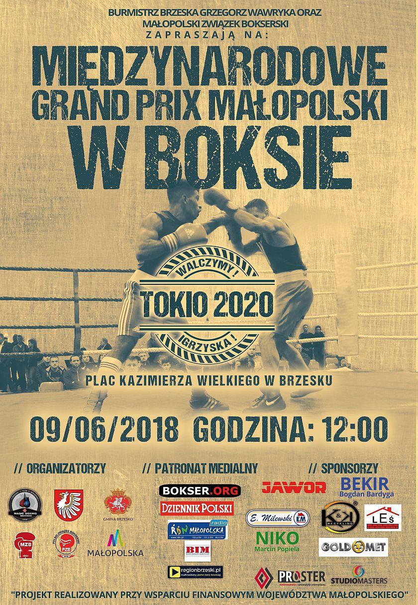 Cykliczny turniej Międzynarodowe Grand Prix Małopolski w Boksie pod wodzą Edmunda Kubisiaka i Ariela Srody