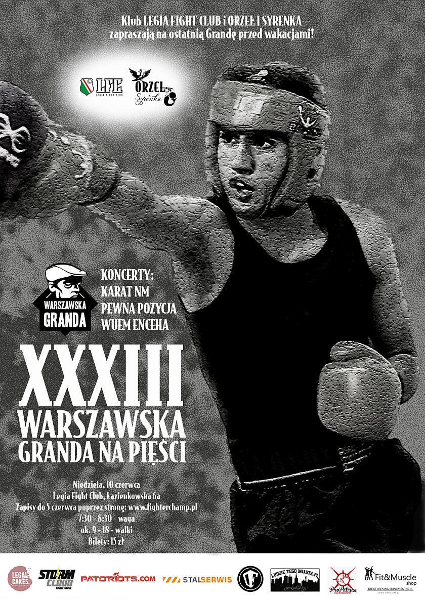 XXXIII Warszawska Granda na Pięsci (10/06/2018) Warszawa, Torwar, Łazienkowska 6a