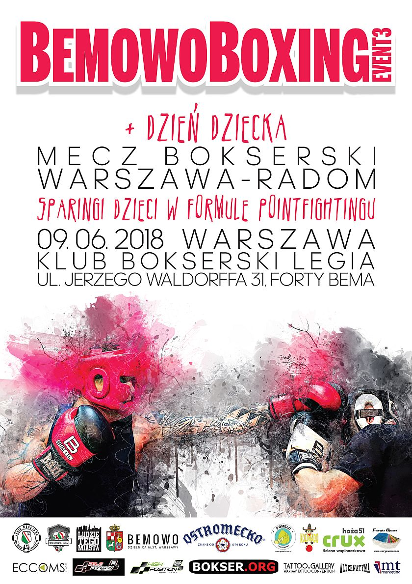 Bemowo Boxing Event 3 - Dzień Dziecka z Boksem 2018 Warszawa
