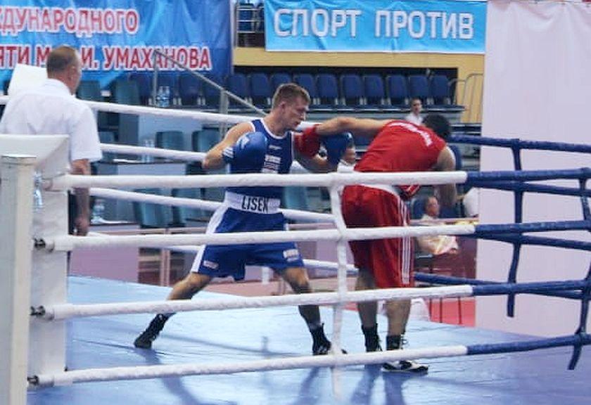 Umakhanova, Kaspiysk-Dagestan w Rosji na ringu Witold Lisek