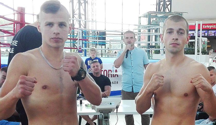 Walka Ekstra Ligi Boksu Olimpijskiego Dominik Dec vs Marcin Hejosz