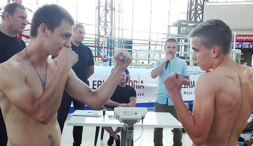 Walka Ekstra Ligi Boksu Olimpijskiego Vasyl Iskra vs Michał Misterski