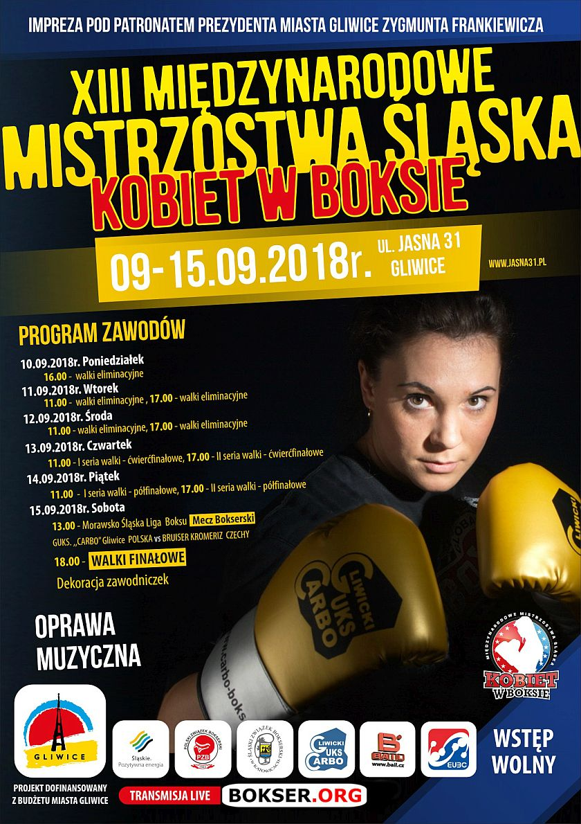 Międzynarodowe Mistrzostwa Śląska Kobiet w Boksie