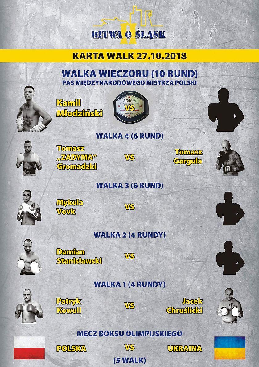 Kogo zobaczymy w Bitwie o Śląsk w Zabrzu przy ulicy Wolności - Karta Walk