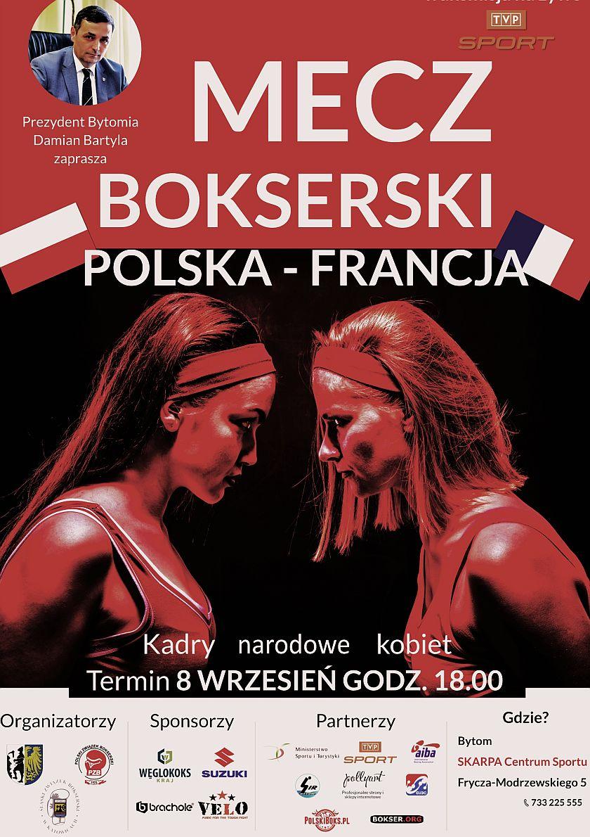 Mecz Polski i Francji wstępem do Międzynarodowych Mistrzostw Śląska Kobiet w Gliwicach