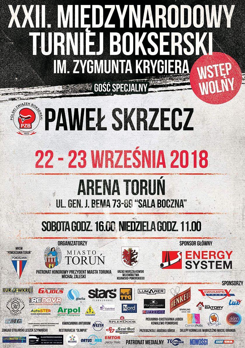 Międzynarodowy Turniej Bokserski im. Zygmunta Krygiera w Toruniu