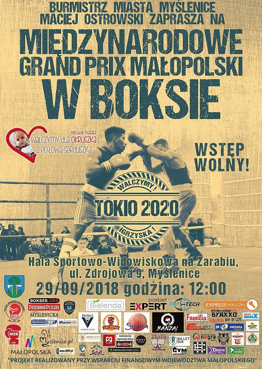 Międzynarodowe Grand Prix Małopolski i akcja ratowania najmłodszego wojownika w Myślenicach - Kraków