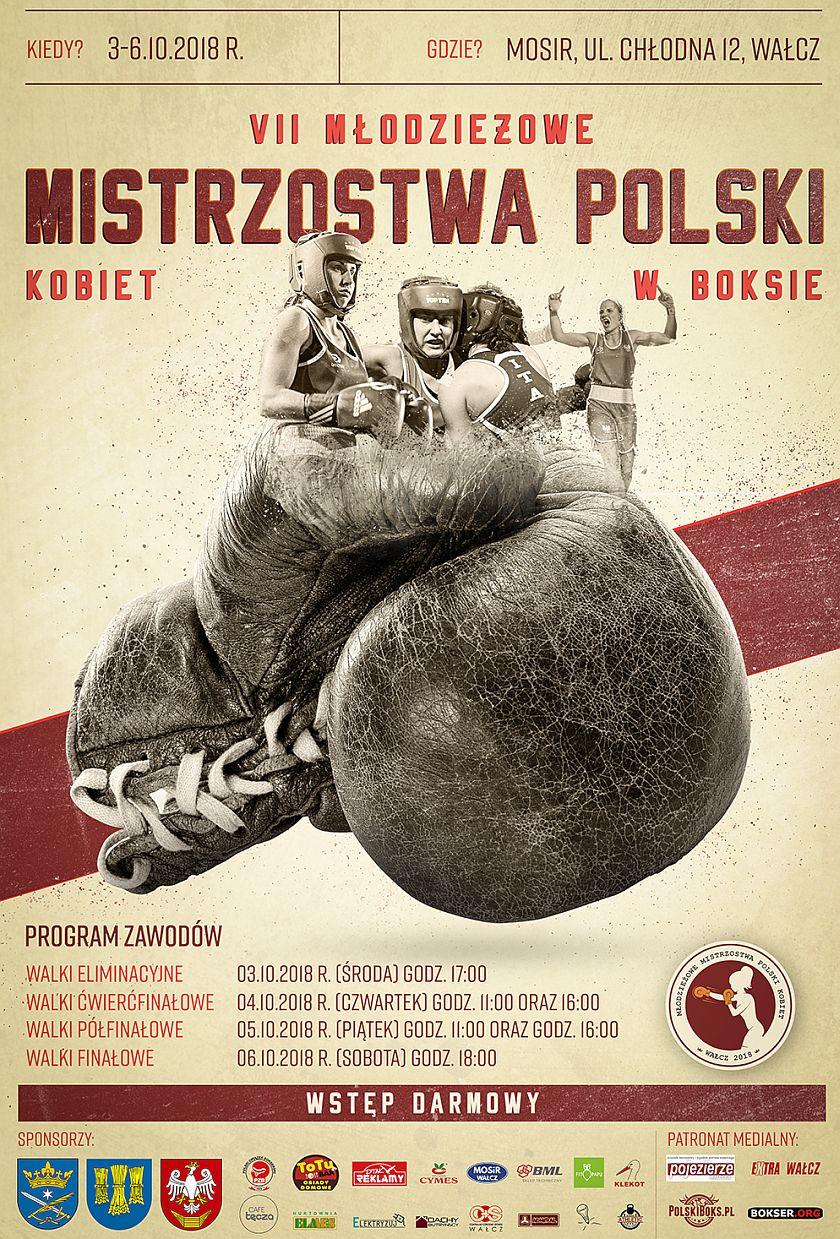VII Młodziezowe Mistrzostwa Kobiet w Boksie 2018 Wałcz