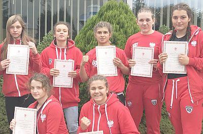 Dwa złota Mistrzostw Europy Kadetek w Anapie - Zofia Stachowiak i Daria Parada