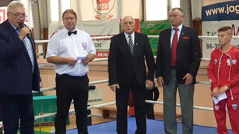 Uroczyste otwarcie VII Mistrzostw Polski Młodzików w Grudziądzu