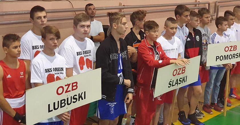 Prezentacja zawodników Mistrzostw Polski Młodzików w Grudziądzu