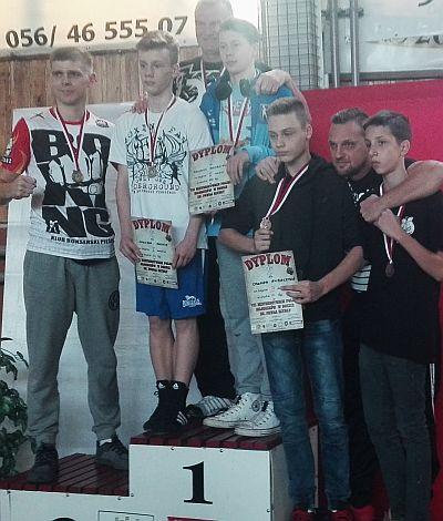 Medaliści mistrzostw Polski Młodzików 2018 Grudziądz