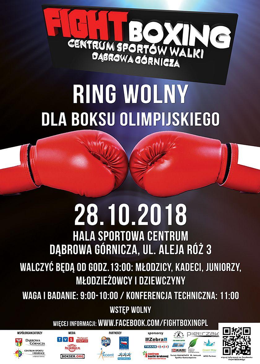 Ring Wolny - Promocja Dąbrowskiego Boksu