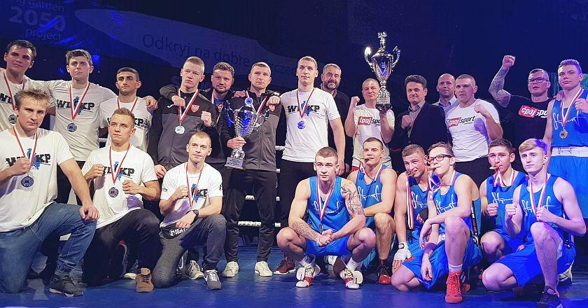 Drużynowi Mistrzowie Polski za rok 2018 Ekstra Liga Boksu Olimpijskiego