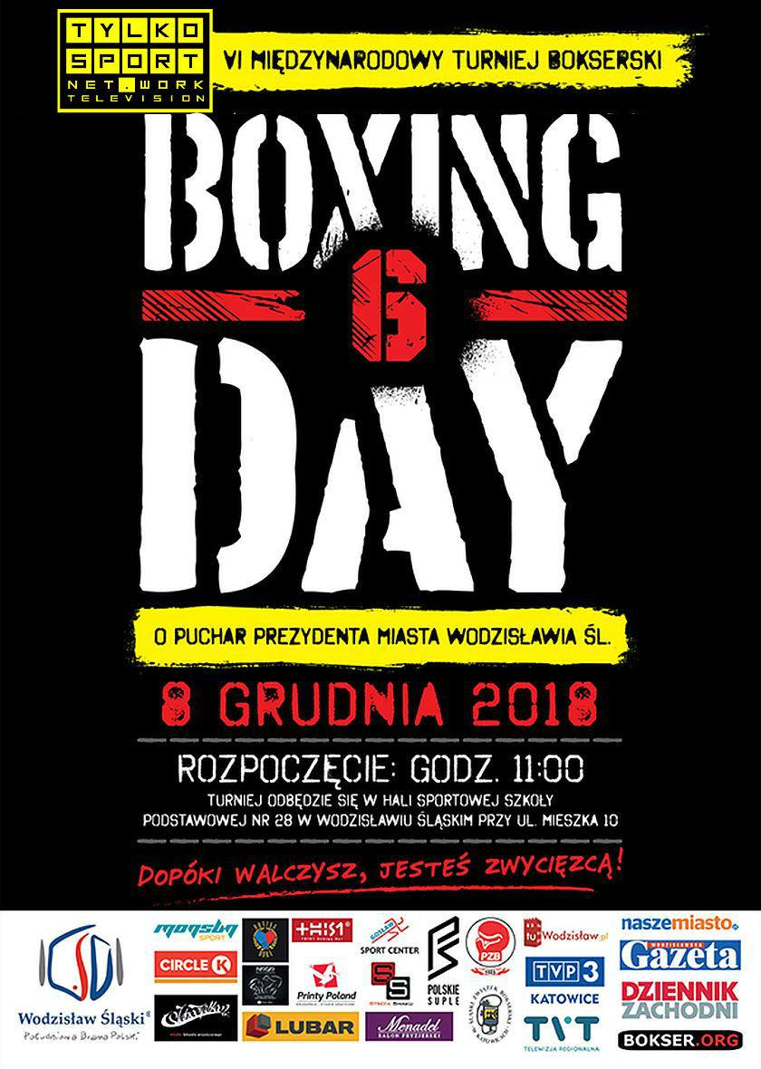 Telewizyjny przekaz z Boxing Day 6 w Wodzisławiu Śląskim