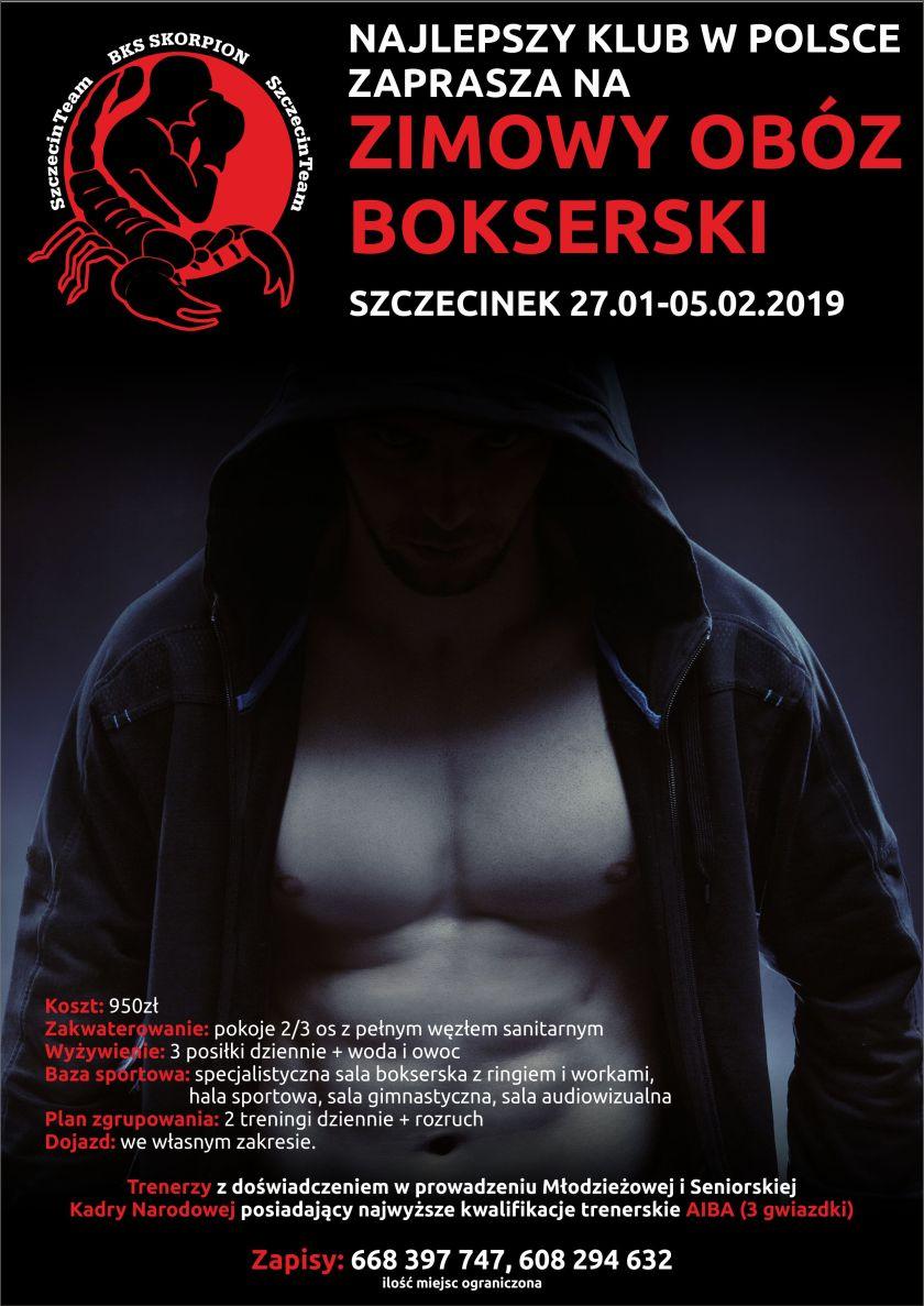 Obóz Bokserski w Szczecinku