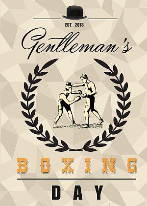 GENTLEMAN'S BOXING DAY