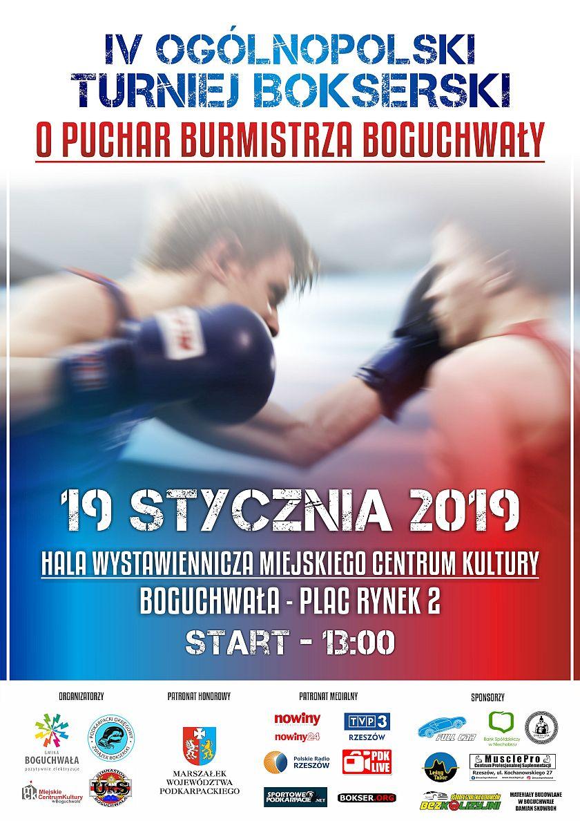 Ogólnopolski Turniej o Puchar Burmistrza Boguchwały