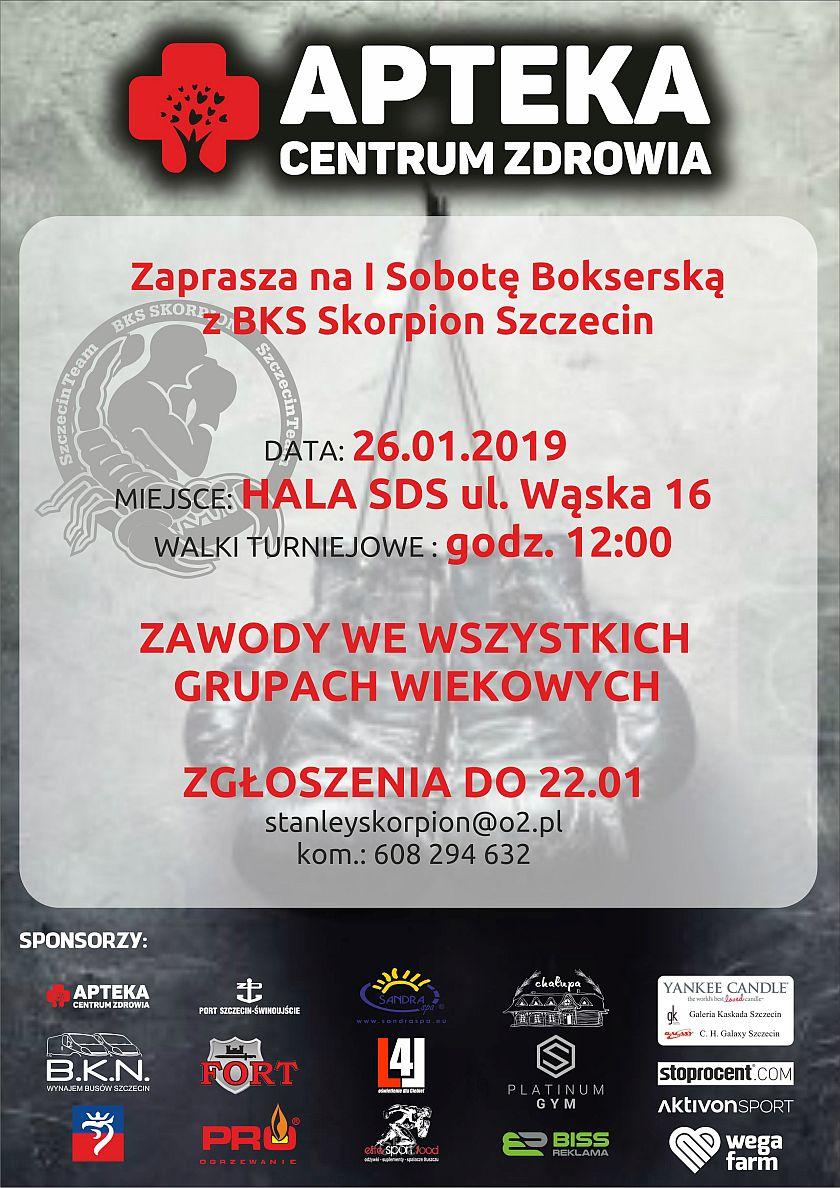 Maroton Bokserski - Sobota, 22 stycznia 2019 - Szczecin