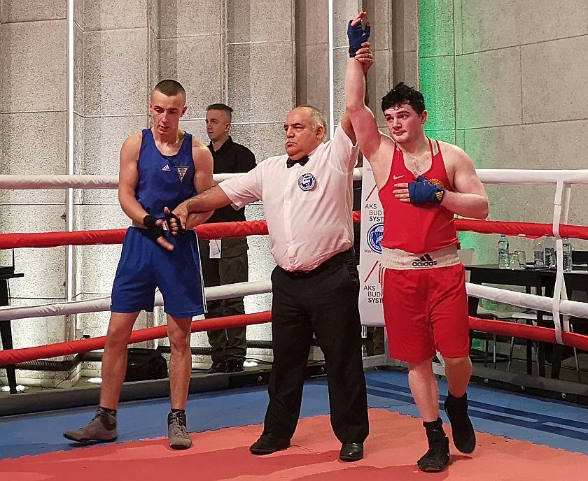 Kategoria 69kg Ismail Askerov vs Mariusz Szczurek PKT 3-0