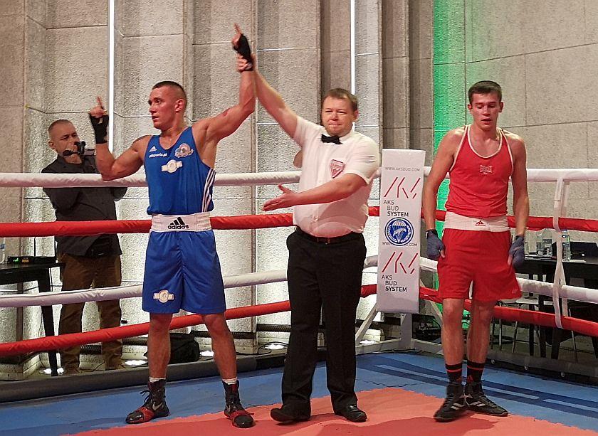 Kategoria 75kg Yaroslav Pohribniak vs Tomasz Nowicki PKT 0-3