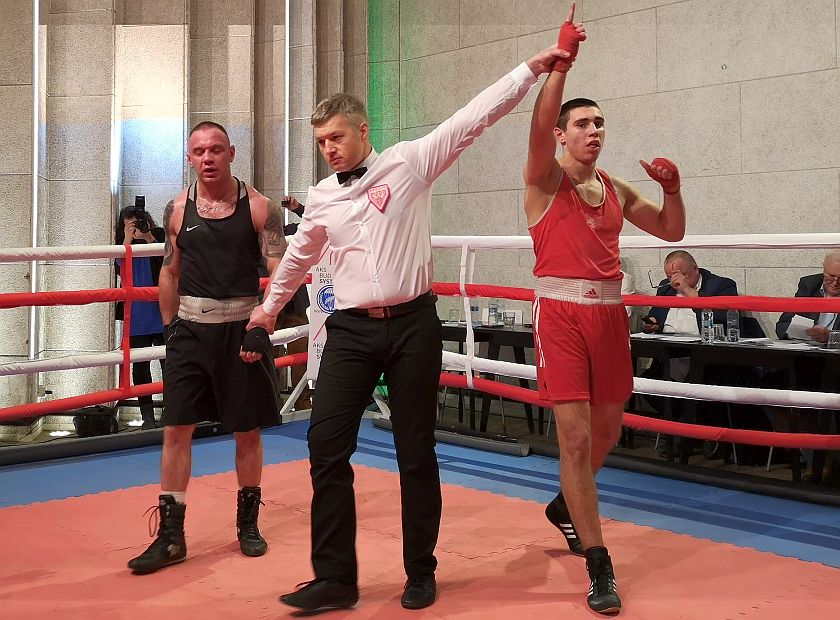 Kategoria 75kg Vitalij Atamanchuk vs Robert Lechman PKT 3-0