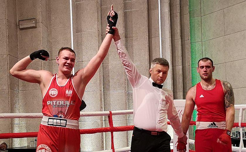 Kategoria 91kg Igor Varchenko vs Kacper Nowicki
