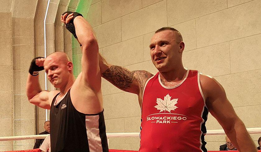 Kategoria +91kg Krzysztof Wojda vs Łukasz Jegierczyk