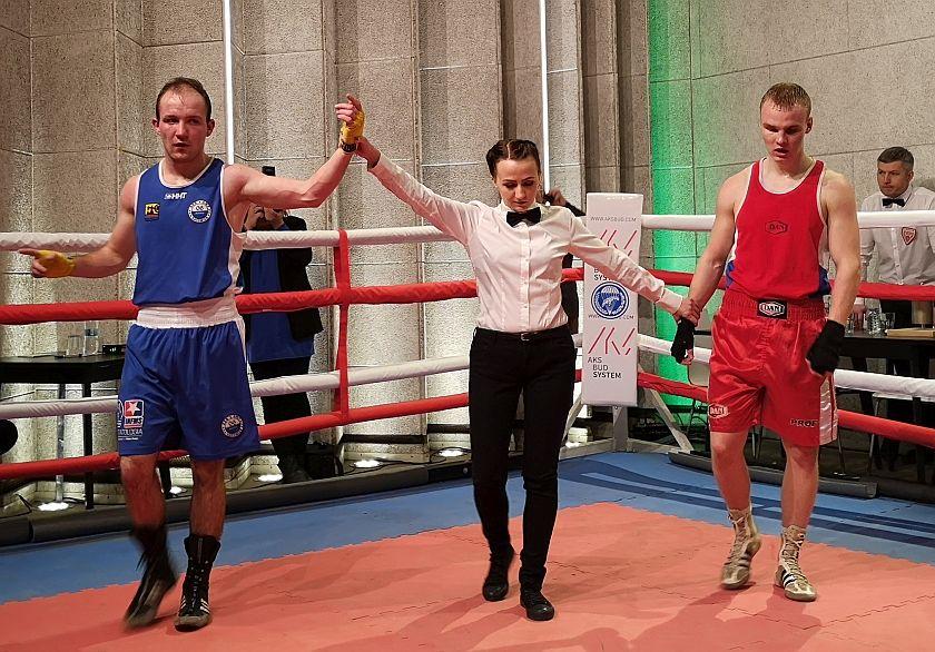 Kategoria 69kg  Anton Grinchenko vs Damian Piwowar PKT 1-2